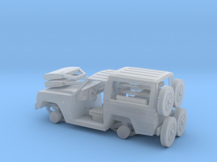 Nissa-Patrol-MC-4-H0-TECHO-RIG-PIE-proto-01 3d printed