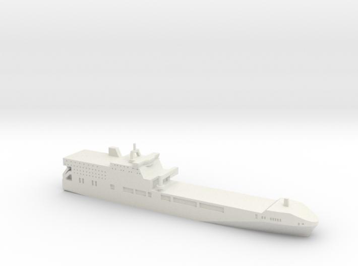 Littoral Strike Ship (Concept), 1/1800 3d printed