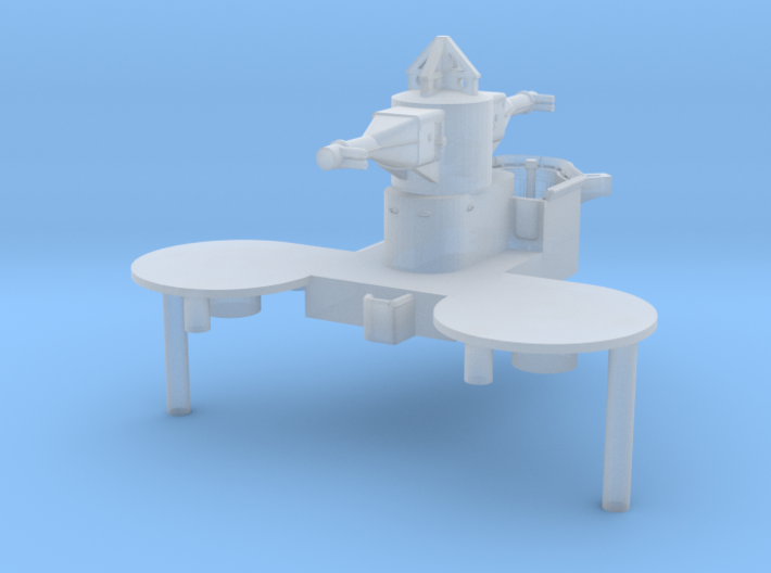 1/600 DKM Lützow Superstructure Aft 3d printed