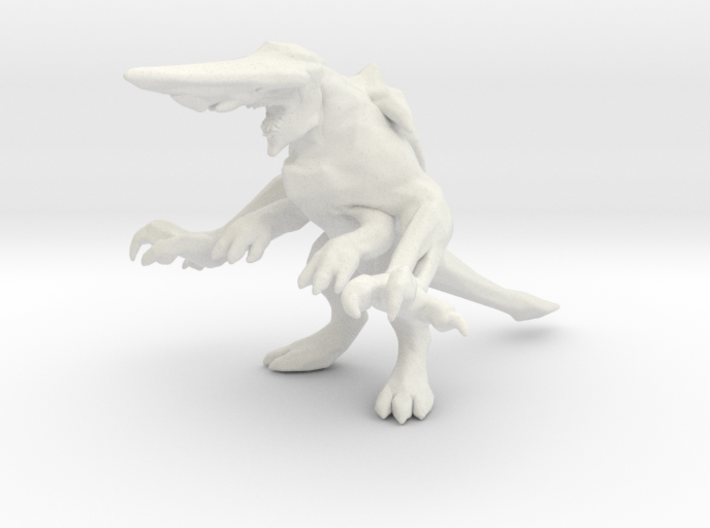 Pacific Rim Knifehead Kaiju Monster Miniature 3d printed