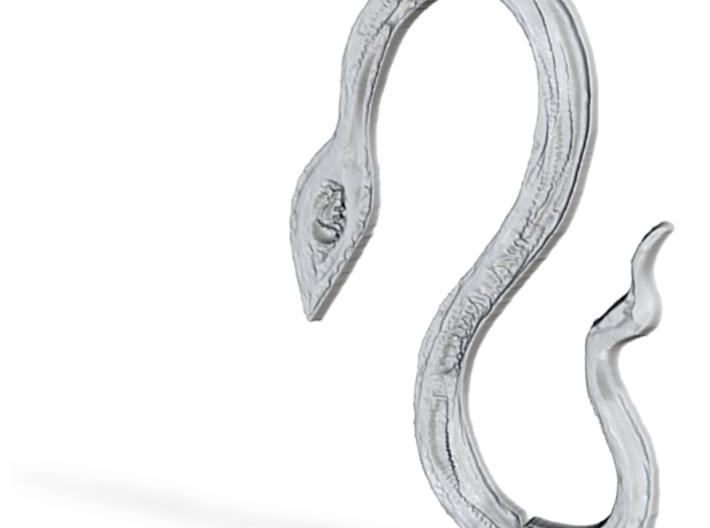 :Serpentine: Pendant 3d printed