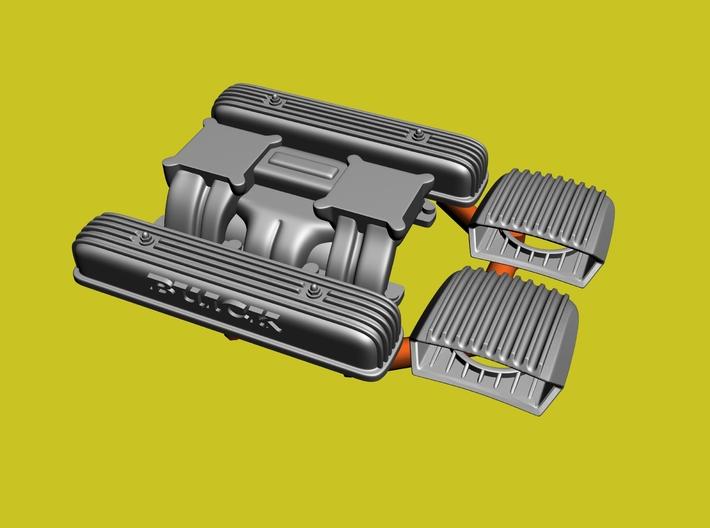 Nailhead Dual Quad Intake Combo 3d printed