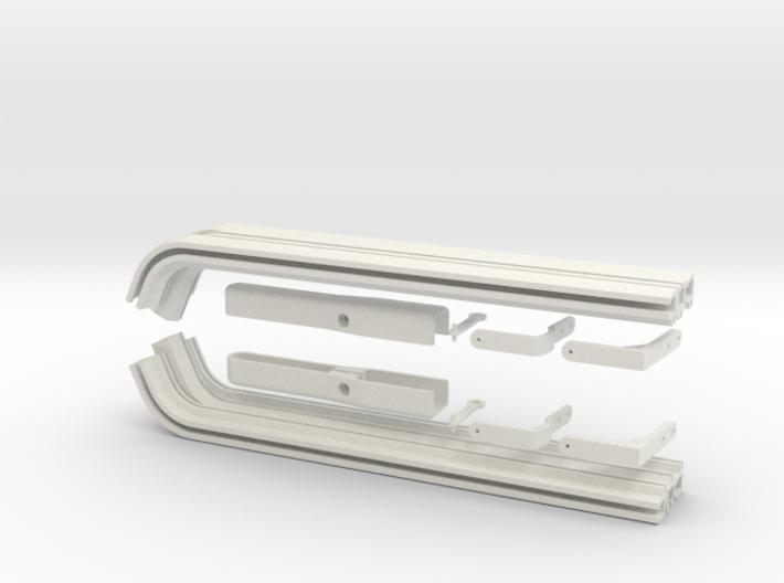 EC135 Sliding Door System Kit 1/4 3d printed