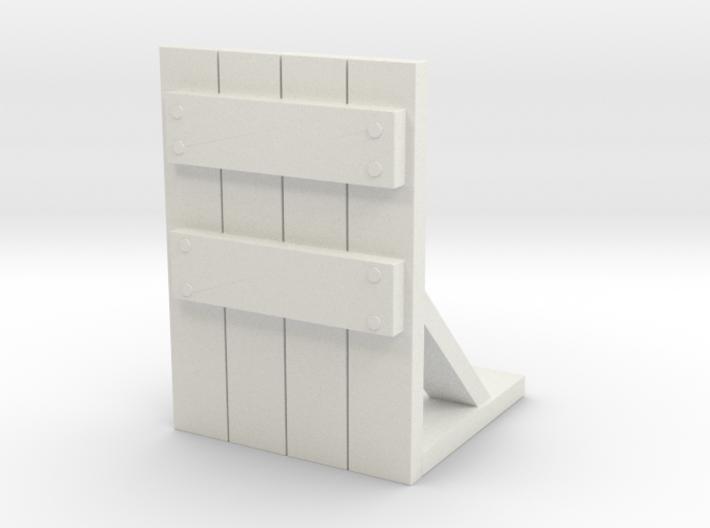Wooden Barricade 1/56 3d printed