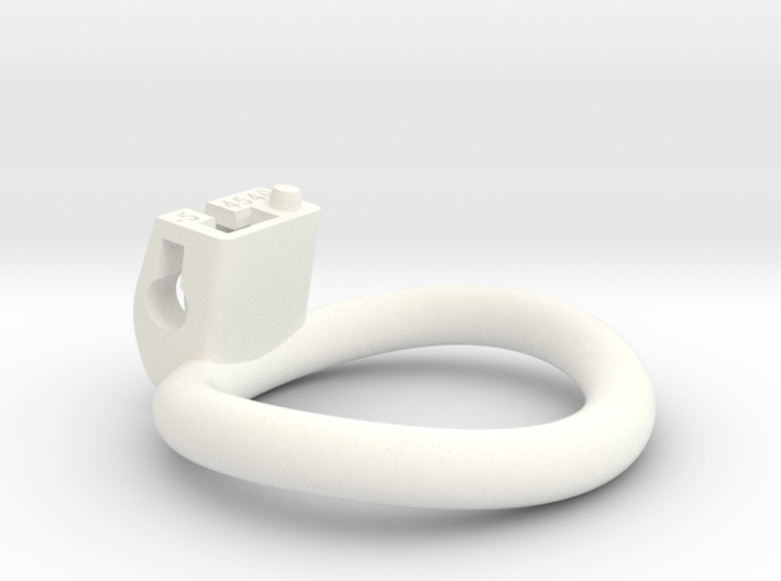Cherry Keeper Ring - 45x40mm Wide Oval -5°(~42.5mm 3d printed