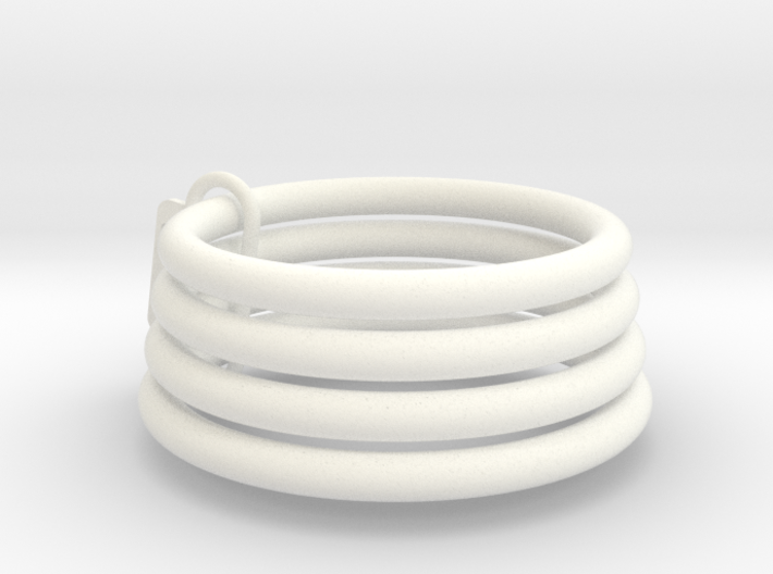 Chastity Sizing Rings 3d printed