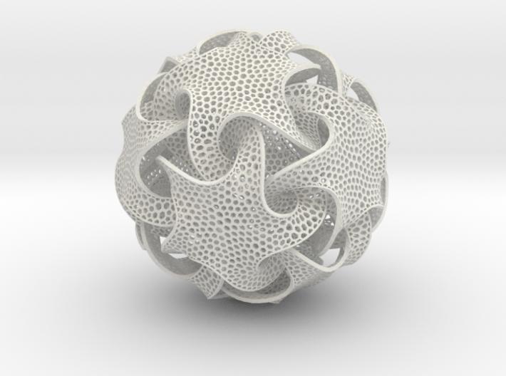 Quin Ornament 3d printed