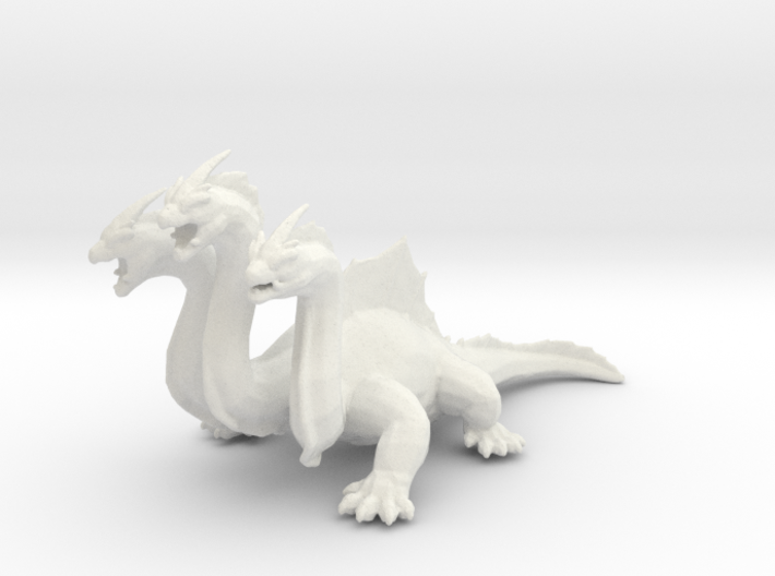 Hydra DnD miniature games rpg dragon monster 3d printed