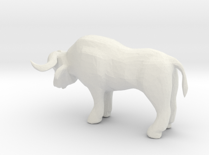 HO Scale Ox 3d printed This is a render not a picture