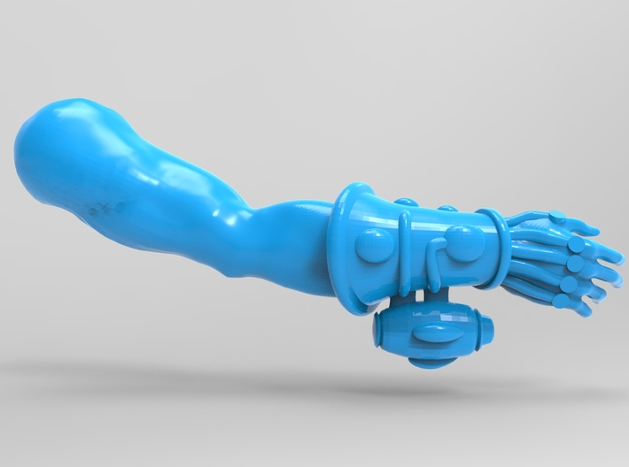 Space Elf Harlequin Caress with Arm RH x5 3d printed