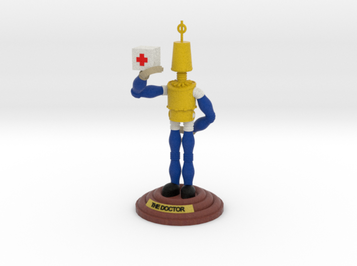 boOpGame Shop - The Doctor 3d printed boOpGame Shop - The Doctor
