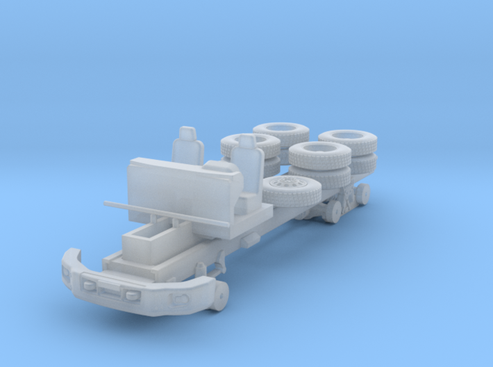 CAT CT660 Chassis 2 axle 1-87 HO Scale 3d printed