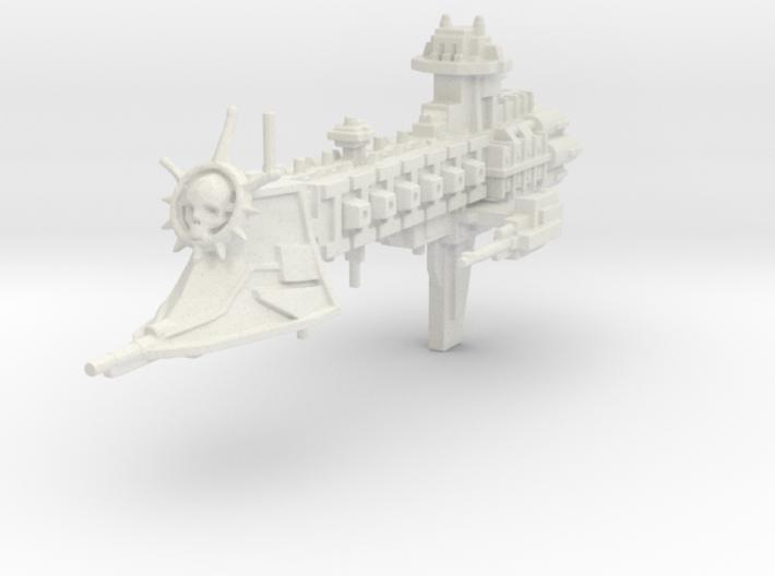 """Crucero de la Guardia de la Muerte """"Green Heart"""" 3d printed"""