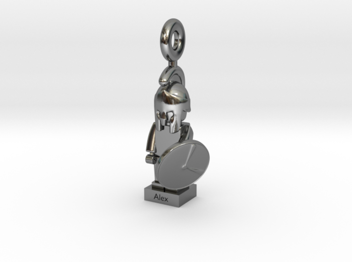 Minifig Spartan 3d printed