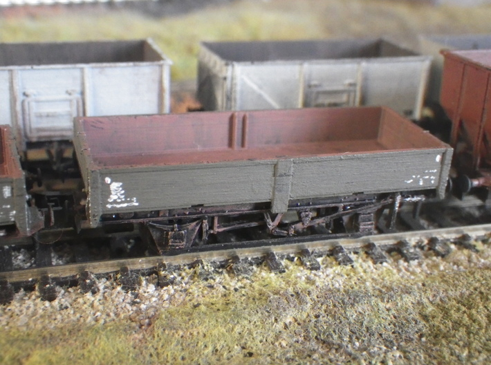 ZCV Crab to fit N-gauge PecoParksideDundas 12'wb c 3d printed On the Peco-Parkside chassis