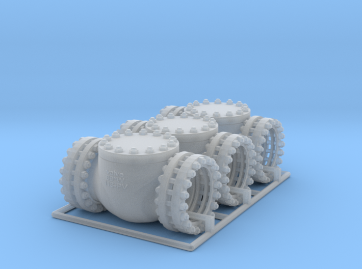 Pipeline Accessory System Valve3 3d printed