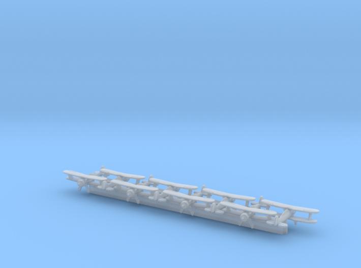 Gloster Gladiator x8 (FUD) 3d printed