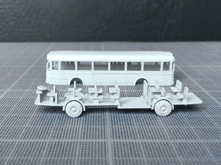 Renault Saviem bus SC10 1965 - 1:160 N 3d printed