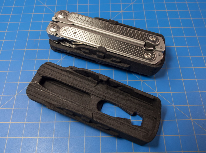 Holster for Leatherman Free P2 3d printed