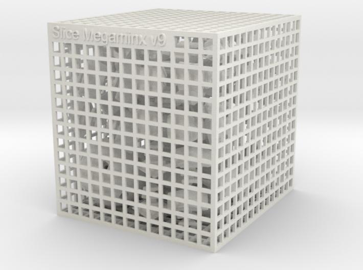 Slice Megaminx 3d printed