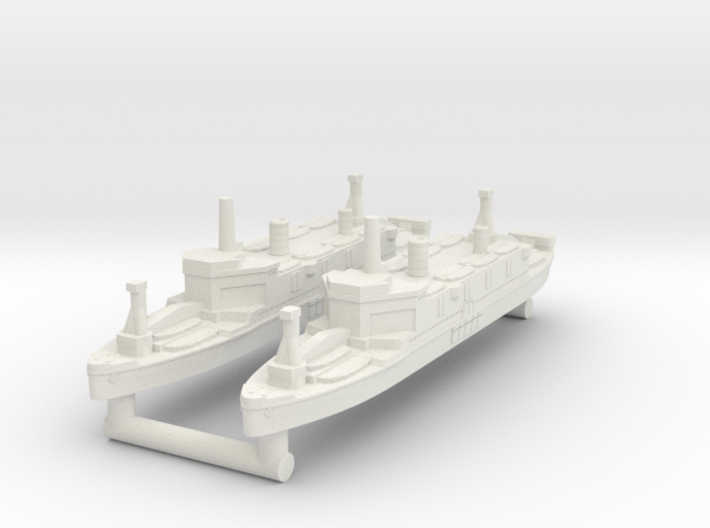 Shinsu Maru Assault Ship [x2] 3d printed