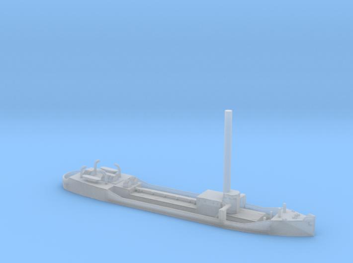 1/1800 Scale Small 255 foot Tanker Halawa 3d printed