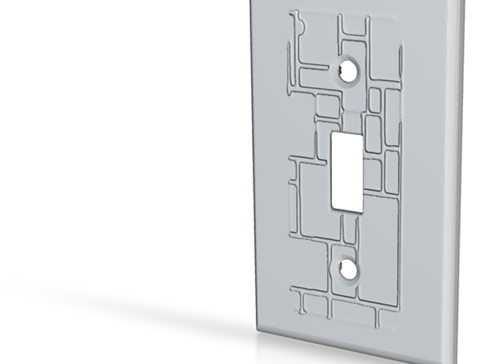Armaan Design Light Switch 3d printed