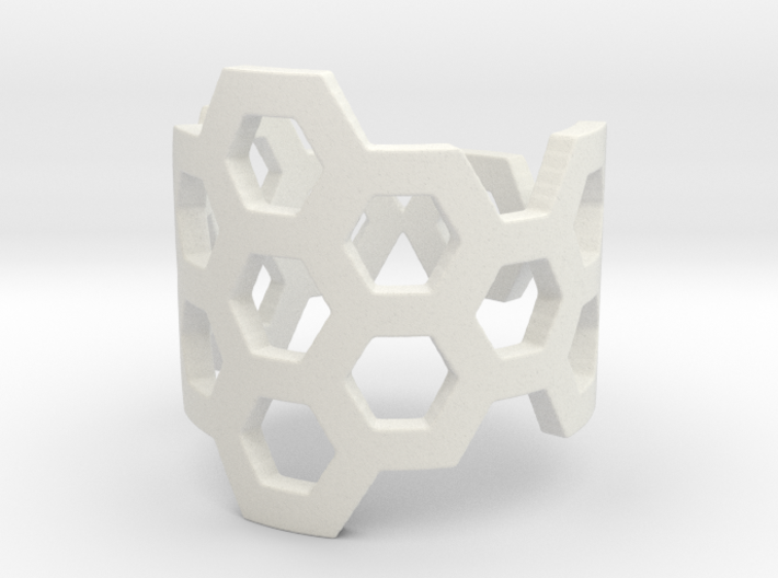 Polyaromatic Hydrocarbon Ring (Size 7) 3d printed