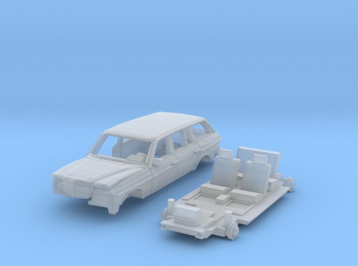Autowrack (N 1:160) 3d printed