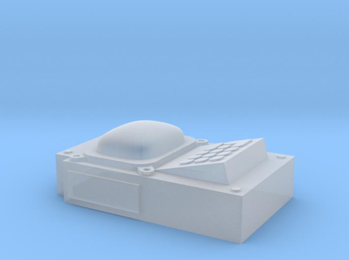 Gun controls test 3d printed