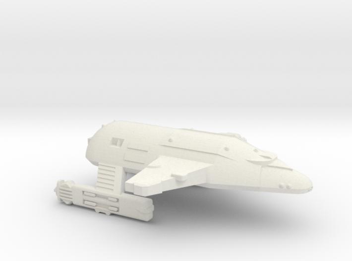 3788 Scale WYN Carcharodon Heavy Cruiser CVN 3d printed