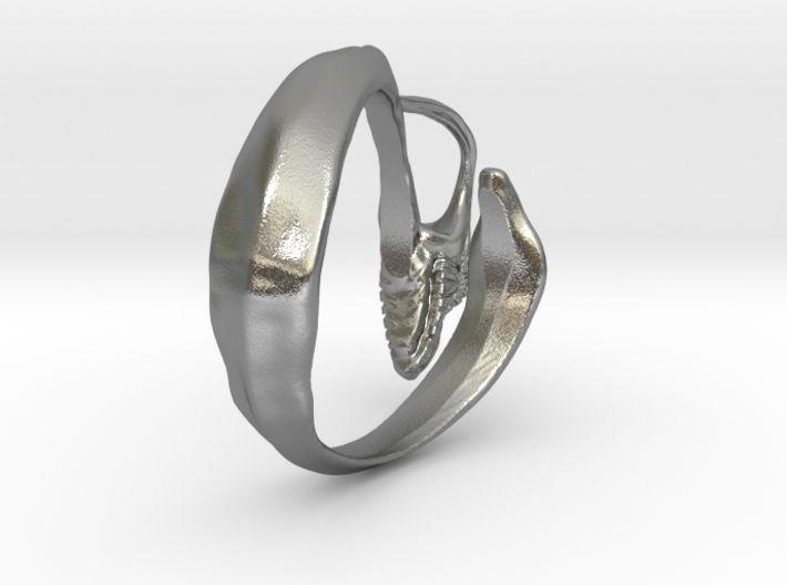"""LUX DRACONIS dragon ring """"The wicked winder"""" 3d printed"""
