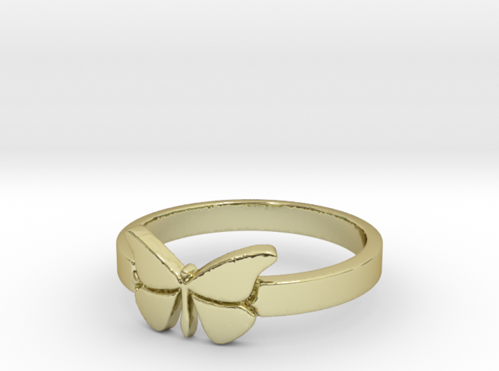Butterfly (small) Ring Size 7 3d printed