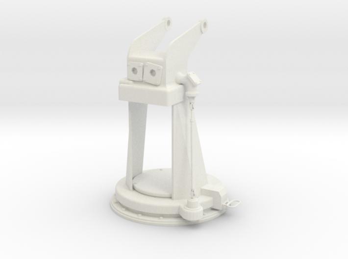 1/5 DKM 3.7cm Flak M42 Single Mount (Pedestal) 3d printed