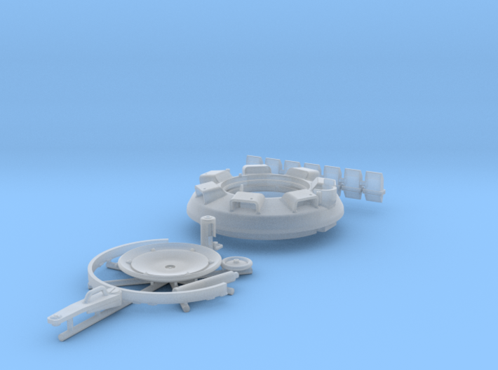1:16 Tiger I late commander's cupola 3d printed