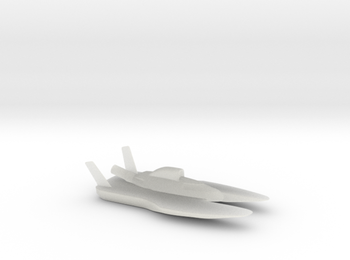 Hydroplane 3d printed