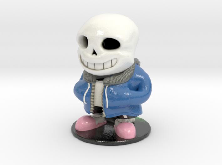 Sans & Flowey - Undertale Figure 3d printed