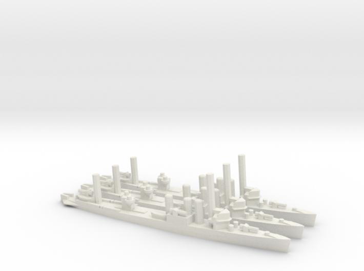 US Clemson-Class Minelayer (x3) 3d printed
