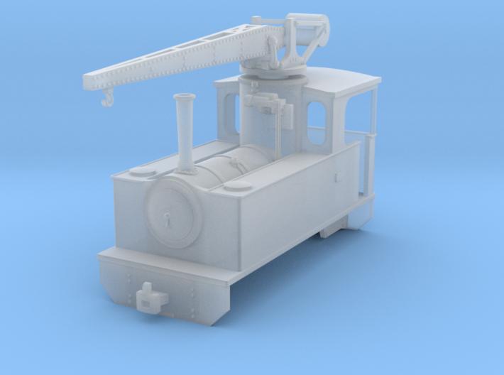 RSH crane locomotive (freelance version) 3d printed