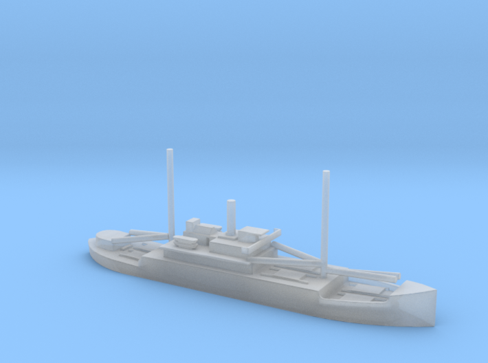 1/1800 Scale 4005 ton Wood Cargo Ship SS North Ben 3d printed