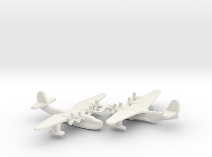 Russian Tupolev MTB-2 Flying Boat (x2) 3d printed