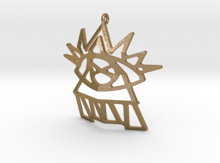 Universal Eye Pendant 3d printed