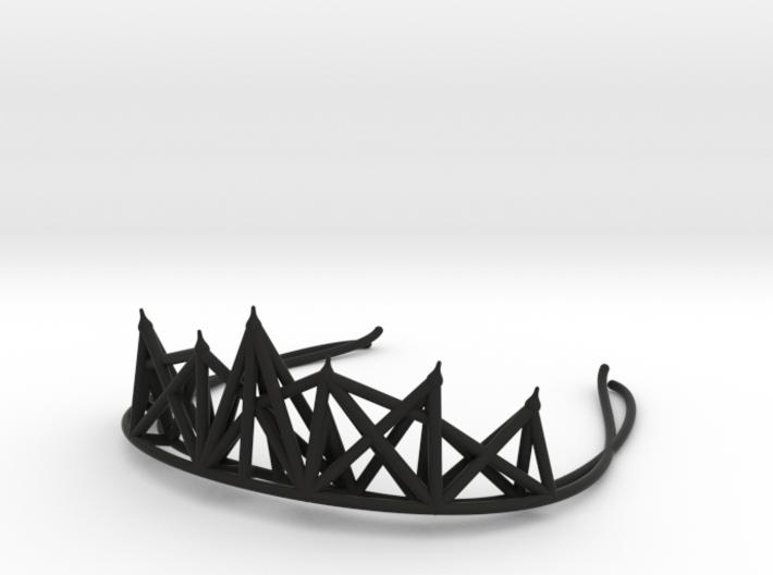 Radical Tiara 3d printed