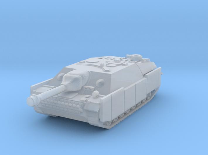 Jagdpanzer IV (schurzen) 1/220 3d printed