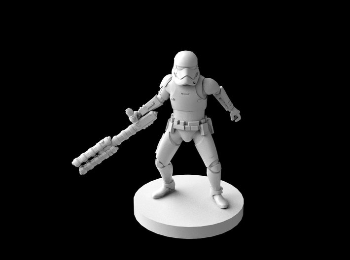 (IA) First Order Riot Stormtrooper 3d printed