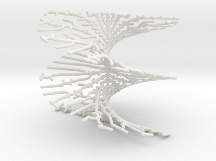 Helicoid Tree 3d printed
