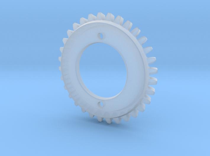 Stencil Machine Gear 2 3d printed