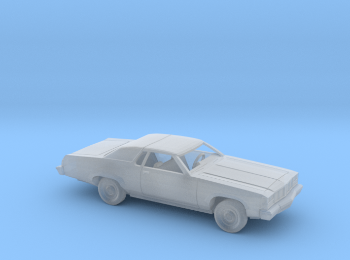 1/160 1976 Oldsmobile Delta 88 Coupe Kit 3d printed