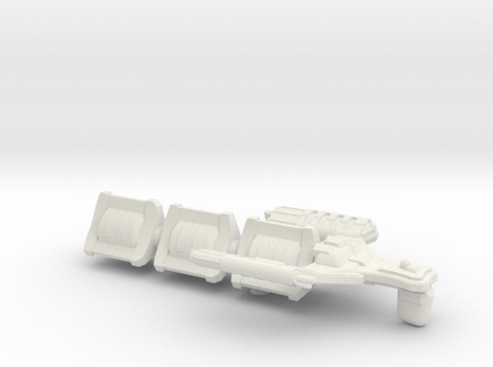 D'Spense Class Transport - 6 inch 3d printed
