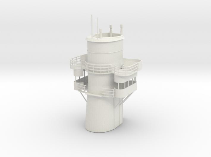 1/96 USS Arizona BB39 Funnel SET 3d printed